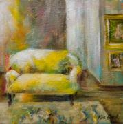 Kim Black: Yellow Chair