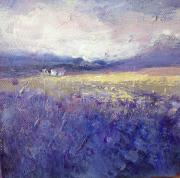 Hester Hattingh: Purple Fields 3